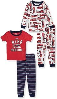 Carter's Boys' 12M-10 4-Pc. Firetruck Pajama Set