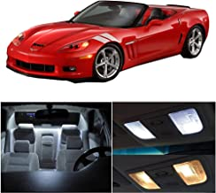 cciyu Replacement fit for 1997-2004 Chevy Corvette C5 Interior LED Light Package Kit 10 Pack White Light