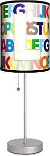 Lamp-In-A-Box SPS-MNG-MODRL Monograms with Modern Letter L Sport Silver Lamp