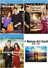 Hallmark Channel Fall Romance Collection: 3 Movies (October Kiss / Harvest Moon / Autumn Dreams) + Bonus Art Card