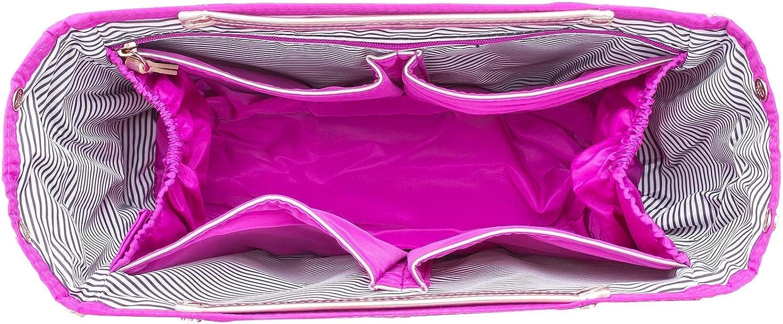 PurseN Handbag Organizer Purse Bag Travel Insert Pink Bling