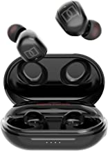 Active Noise Cancelling Earbuds, Bluetooth Earphones, Fully Wireless Earbuds, 2020 Innovation Design with ANC Function, Noise Cancellation, Bluetooth 5.0 + EDR, 6D Stereo Sound, AAC Audio Compatible, CVC 8.0 Noise Cancelling, IPX6 Waterproof, Up to 40 Hou