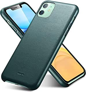 ESR Premium Real Leather Case Compatible with iPhone 11 - Slim Full Leather Phone Case [Supports Wireless Charging] [Scratch-Resistant] Protective Case for iPhone 11 6.1