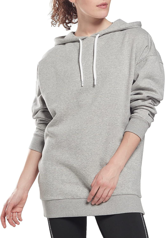 Core 10 by Reebok Women's Oversized Fleece Hoodie