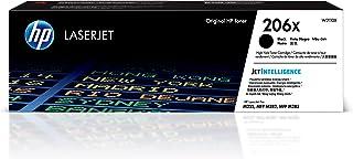 HP 206X High Yield Laserjet Toner Cartridge, Black W2110X