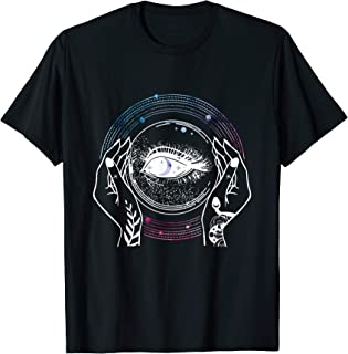 Psychic Crystal Ball Mystic Fortune Teller Halloween Costume T-Shirt