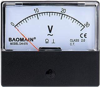 Baomain Voltmeter Dh-670 Ac 0-30V Rectangular Class 2.5 Analog Panel Volt Voltage Meter