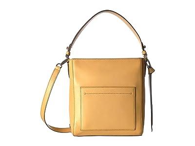Cole Haan Kaylee Small Bucket Hobo (Sunset Gold) Bags