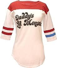 Bioworld Suicide Squad Harley Quinn Daddy's Lil Monster Raglan T-Shirt