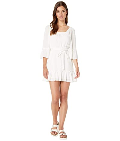 BB Dakota Gauze Effect Dress (Ivory) Women