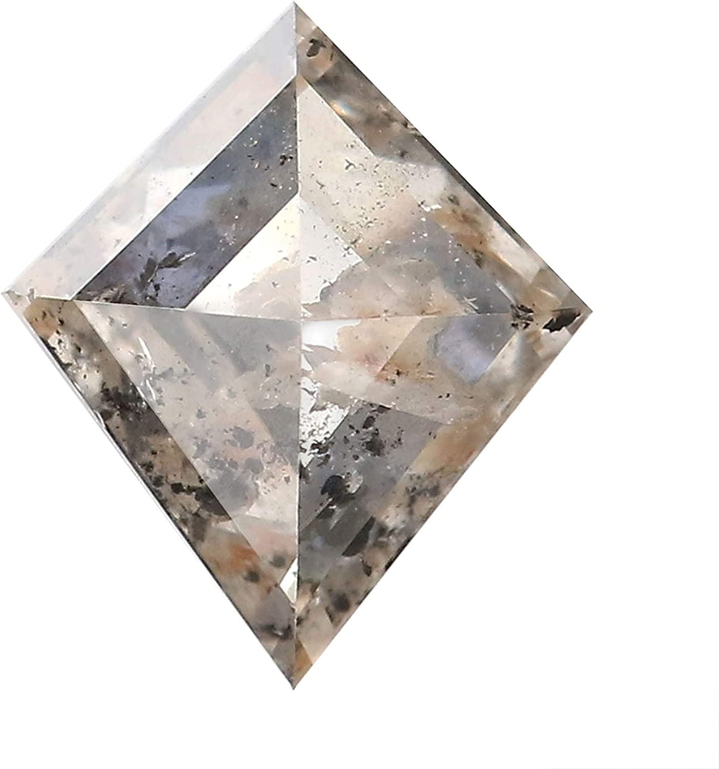 1.07 Ct Spring new work one after another Natural Loose Diamond Kite 8 Color Brown Clarity I3 Brand new Gray