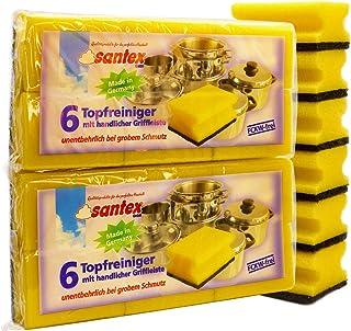 Kitchen Cleaning Sponges Scrub Sponge! Longer Lasting Scrub Sponge Set Made in Germany! (Pack of 18)