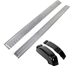Extended Cab Lower Slip-On Metal Rocker Panels and Cab Corners (Pair) for 1999-2007 Silverado and Sierra 4 Door Extended Cab trucks