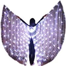 dance-led LED ISIS Wings for Belly Dance Party Club wear Light up Show