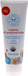 The Honest Company Organic All-Purpose Balm Certified Organic Plant-Based Hypoallergenic Skin Care Organic Sunflower, Oliv...