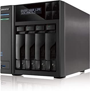 ASUSTOR AS7004T | INTEL 3.5G Dual-Core High-Performance NAS (4 Bay Diskness NAS)