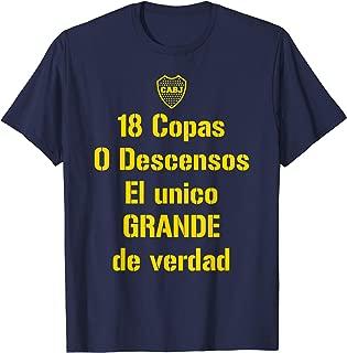 El Unico Grande de Verdad Football Shirt Boca Juniors