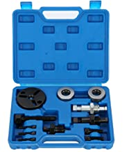 8MILELAKE Air Compressor Clutch Rebuild Removal Tool Kit AC Clutch Puller Auto Air Conditioning Remover Installer Compatible for GM, Ford, Chrysler
