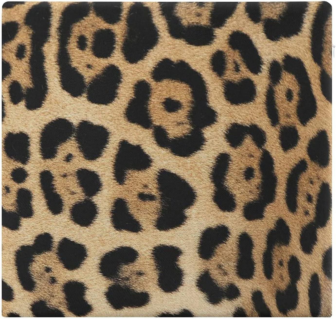 Cojines de Suelo Cuadrados,Cojín de Asiento de cojín de Silla,Cerca de Jaguar o Pantera Onca mostrando Marcas de patrón de,Sentado para Oficina,hogar,Suave Espesar