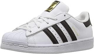 Junior's Superstar Sneaker, White/Core Black/Core White, 6