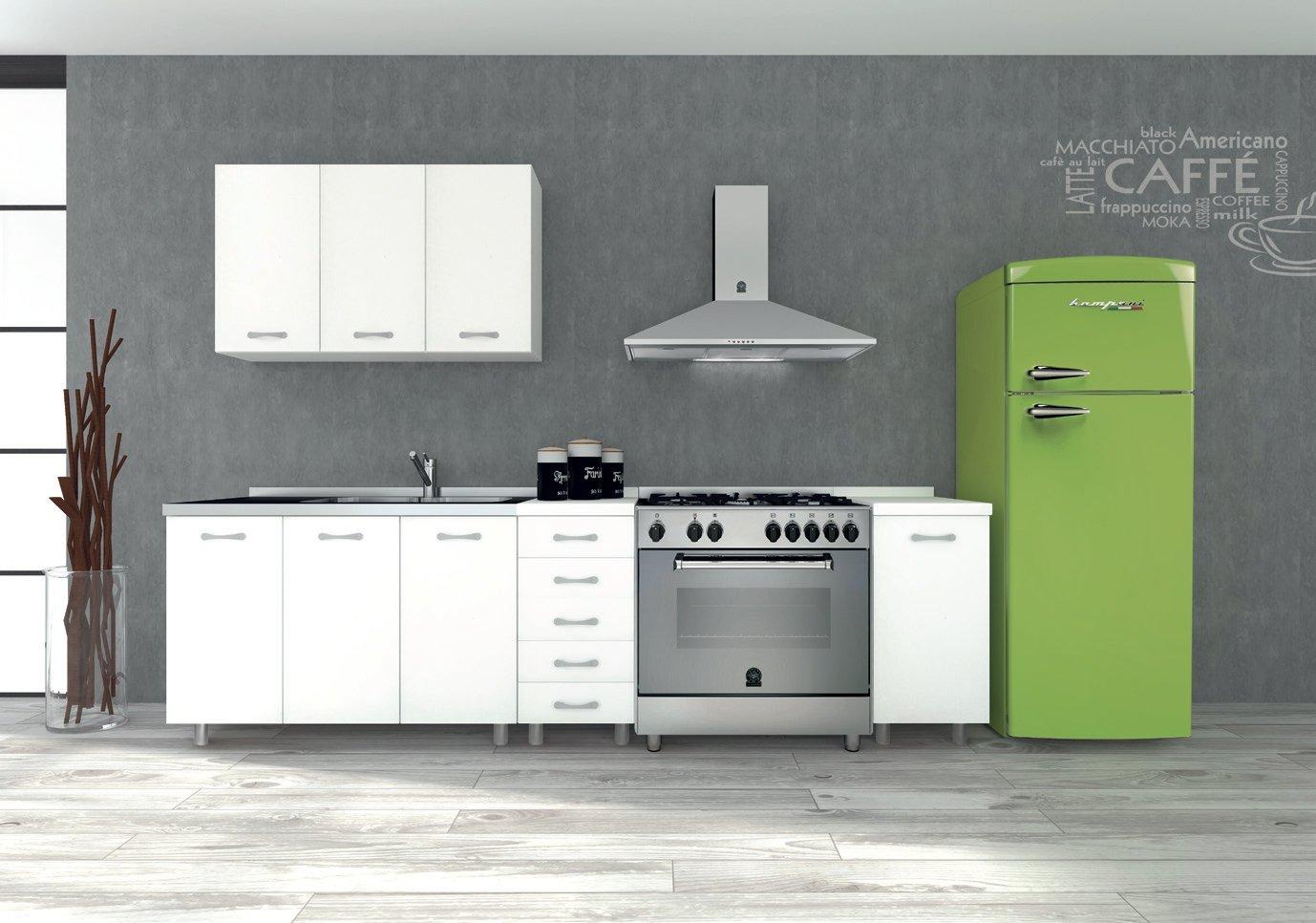 Tosend Servizi sas Mueble para Cocina Part para Campana extractora 2 Puertas Formula 50 cm L60 Color Blanco – Campana compresa: Amazon.es: Hogar