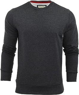 Mens Brave Soul Jones Overhead Sweatshirt V Insert Neck Pull Over Jumper