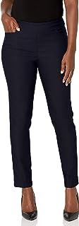 SLIM-SATION Women's Misses Ankle Pant L Pockets