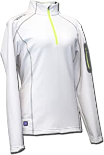 Heated Thermal Half Zip Women's by Volt -Perfect for Warming Your Body's Core - Athletically Stylish fit