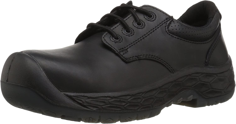 Baffin Mens Men's King (Toe Plate Predection) Industrial shoes, Black, 9 Medium US