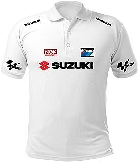 Polo Hombre Camiseta Suzuki T-Shirt Rally Racing Coche Moto Auto ...