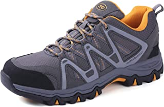 Men's Breathable Walking Hiking Shoe Outdoor Running Backpacking Athletic Trekking Sneaker
