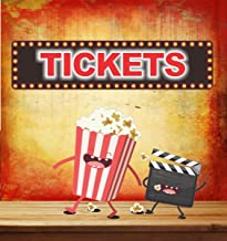 Tickets Novelty Home Movie Theater Sign with Flashbulb Lights Effects Border - Fun Sign Factory