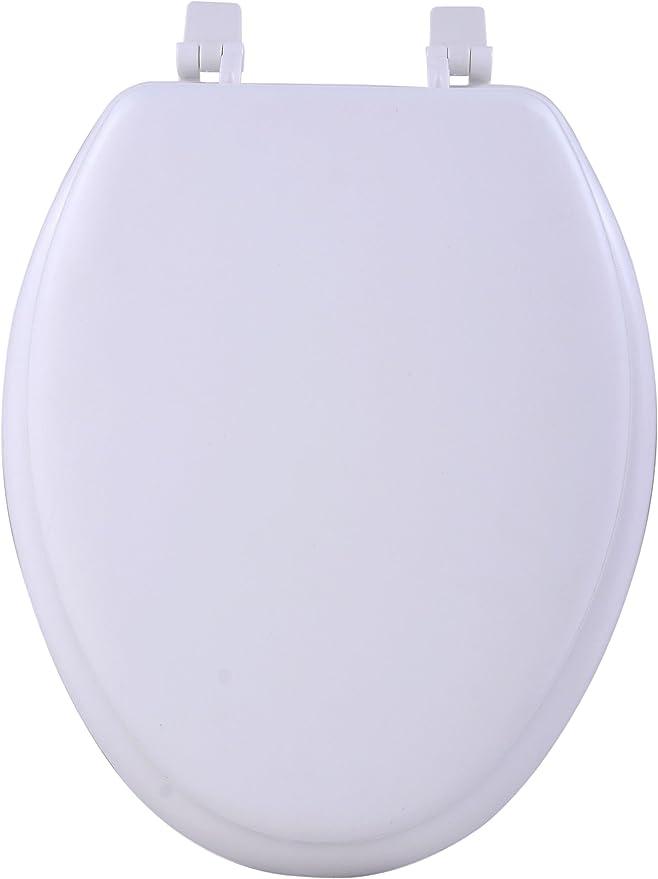 Achim Home Furnishings White Tovyelwh04 19 Inch Fantasia Elongated Toilet Seat Soft
