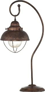 Bassett Mirror Alleghany Table Lamp, Copper