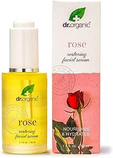 Dr.Organic Rose Face Oil Serum, 1.1 fl Ounce