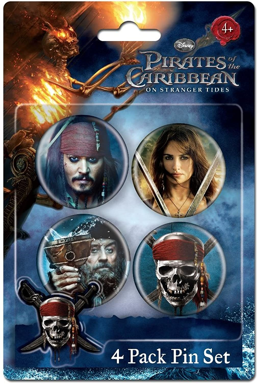 Pins Set Set Set – Piraten der Karibik – Geschenke Toys 21702 B00B56169C  Mode-Muster 9552b9
