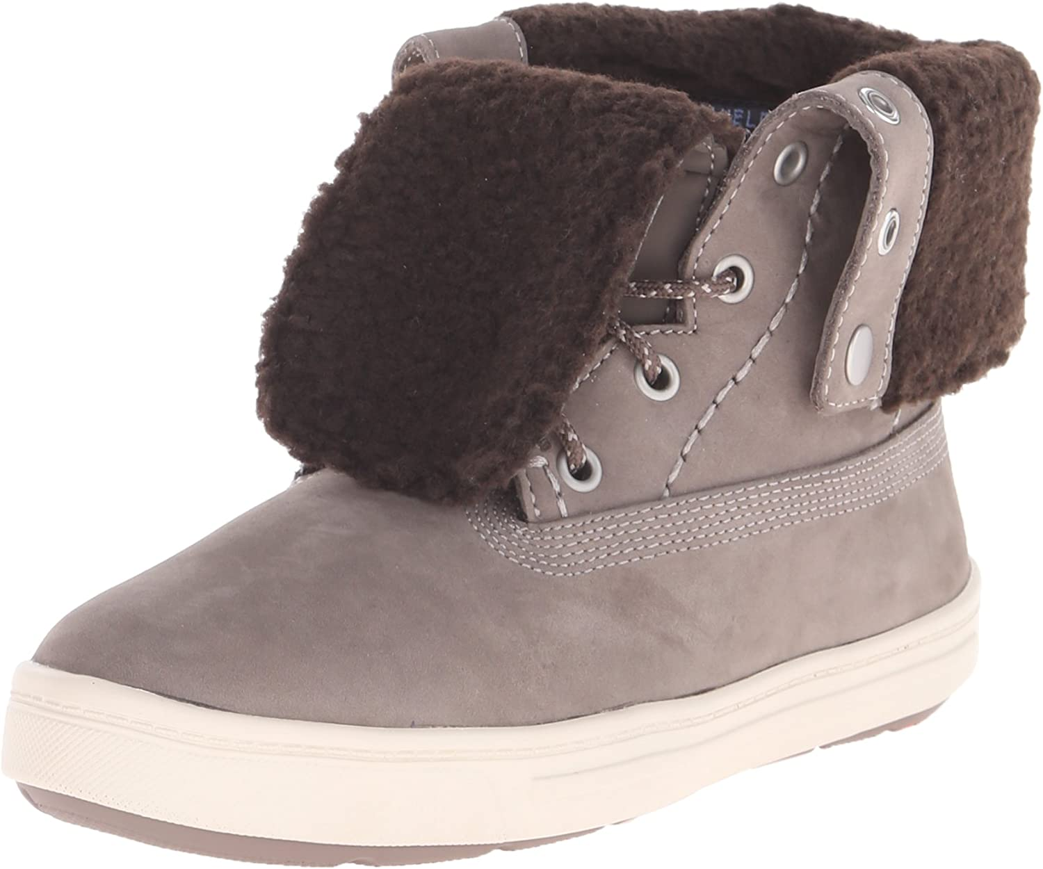 Rockport Women's Truwalkzero Cupsole Faux Fur Boot Mustard
