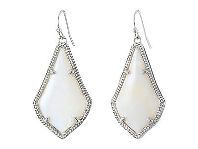Kendra Scott Alex Earring (Rhodium/White) Earring