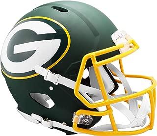 Riddell Green Bay Packers AMP Alternate Revolution Speed Authentic Football Helmet - NFL Authentic Helmets