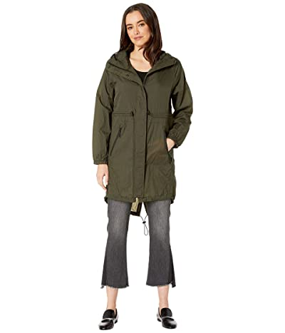 Tumi Ultralight Rain Pack Jacket (Pine) Women