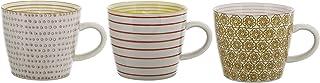 Bloomingville Stoneware Susie Mug Set, 3 Styles