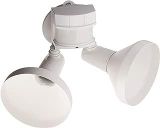 Heath Zenith HZ-5318-WH Series WHT Security FLD Light, White