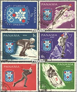 Panama 1046-1051 (Complete.Issue.) 1968 Olympic. Winter Games´68,Grenoble (Stamps for Collectors) Winter Sports