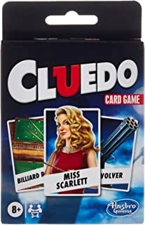 Clue Card Game for Kids Ages 8 and Up, 3-4 Players Strategy Game
