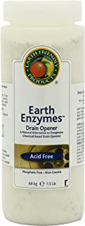 ECOS Earth Enzymes Drain Maintainer - Maintains Free-Flowing Drains. Septic and Greywater Safe. 2 LBS. (Pack of 6)
