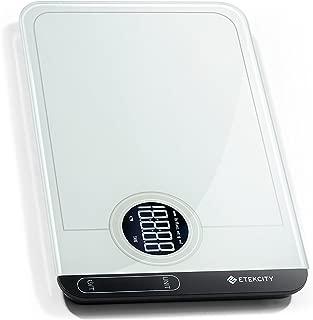 Etekcity EK6314 Kitchen Weight Scale, 11 lbs, White