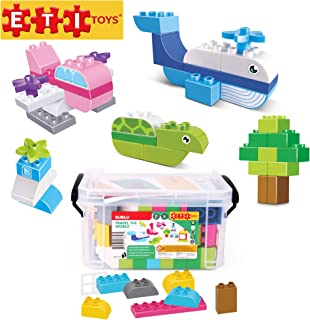"""Floating Beach Speedboats Promotional Gifts 144 Pieces of Mini Plastic Sailboats Perfect for Baby Bath Time Indoor Outdoor Play 3/"""" Small Boat Toy for Kids Party Favor and Bag Fillers by Kidsco"""