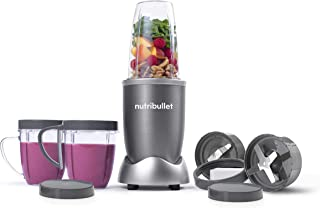 nutribullet 600 Watts, 12 Piece Set, Multi-Function High Speed Blender, Mixer System with Nutrient Extractor, Smoothie Mak...
