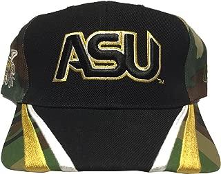 Big Boy Gear Alabama State University Camo/Bk. Hat Cap HBCU Historically Black University Adjustable College Baseball Hat Dad Cap