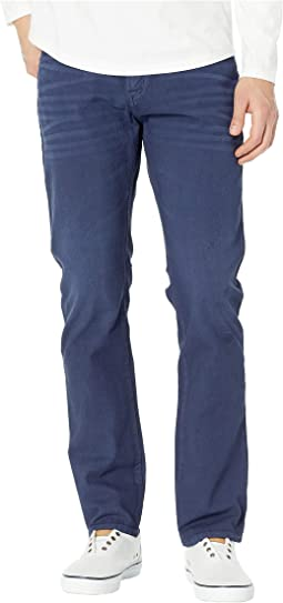 Slim Straight Five-Pocket Jeans in Club Navy